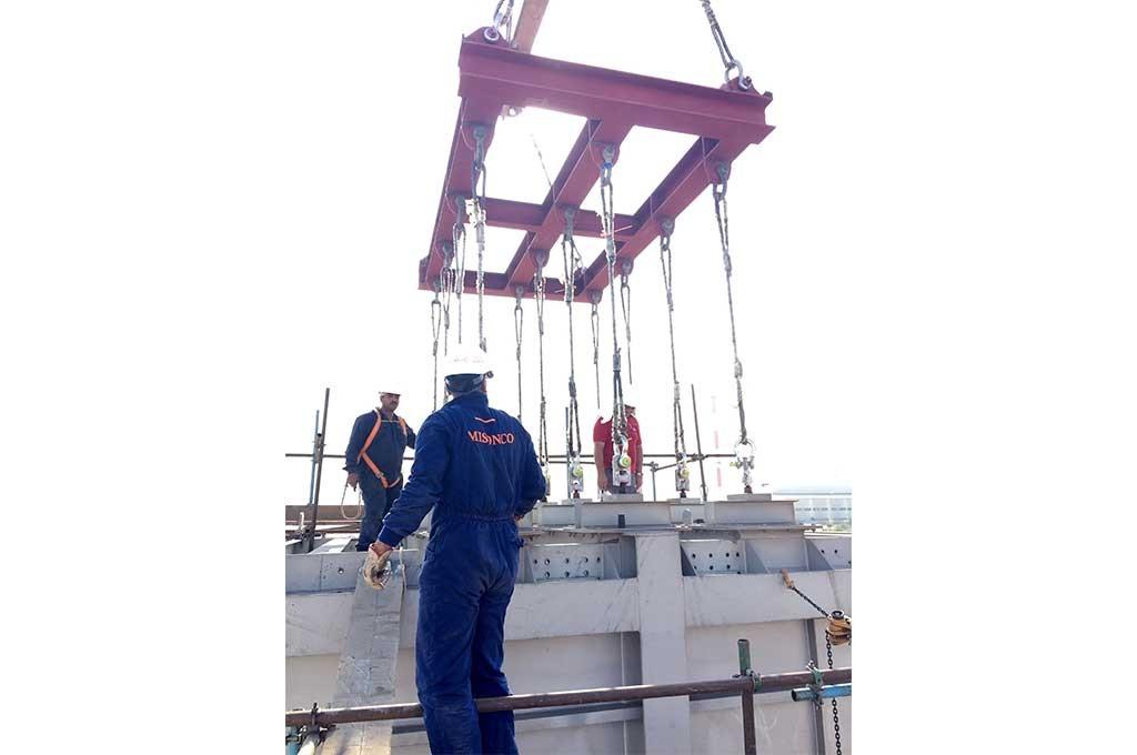 EZZ Steel. Suez, Egypt